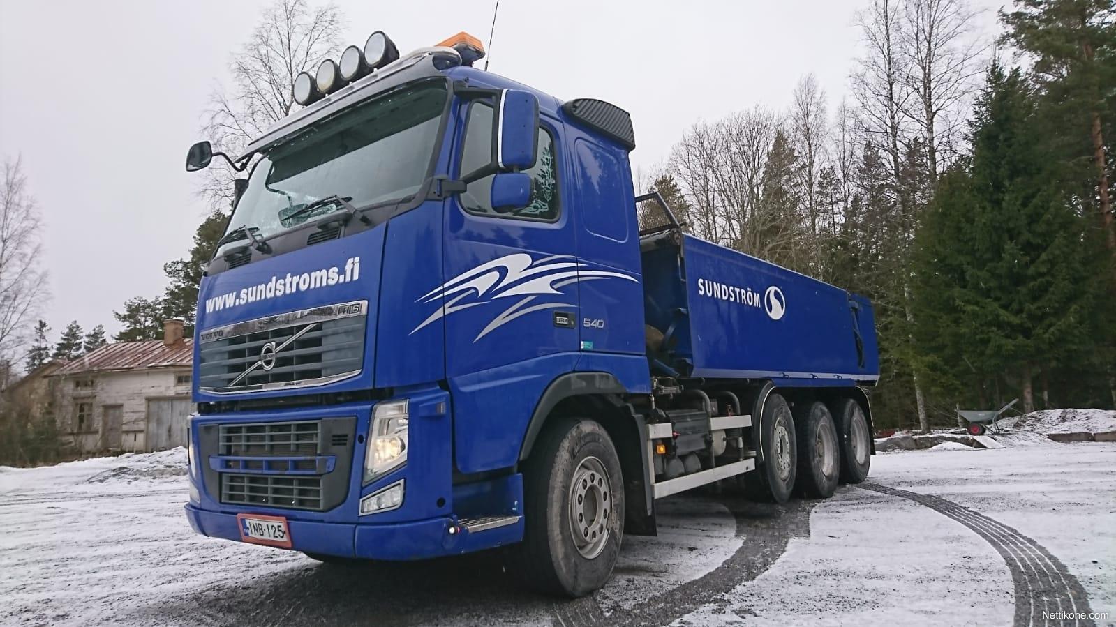 Volvo FH16 540 8x4 68T yhdistelmä TULOSSA